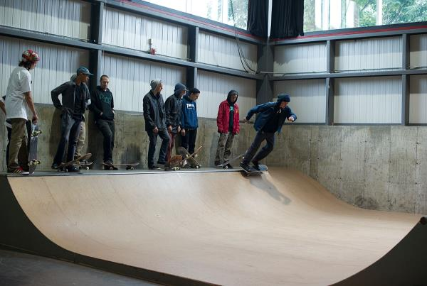 Kiddie Mini-Ramp at Am Getting Paid