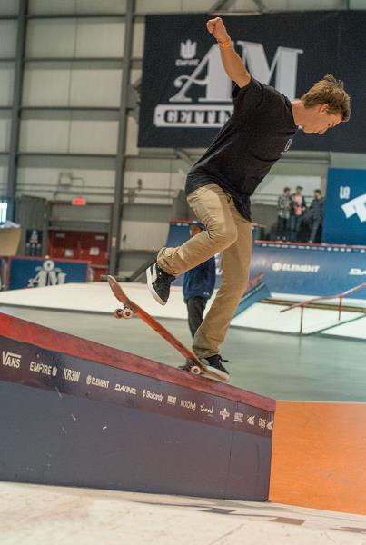 Paul Hart Backside Noseblunt Slide at Am Getting Paid