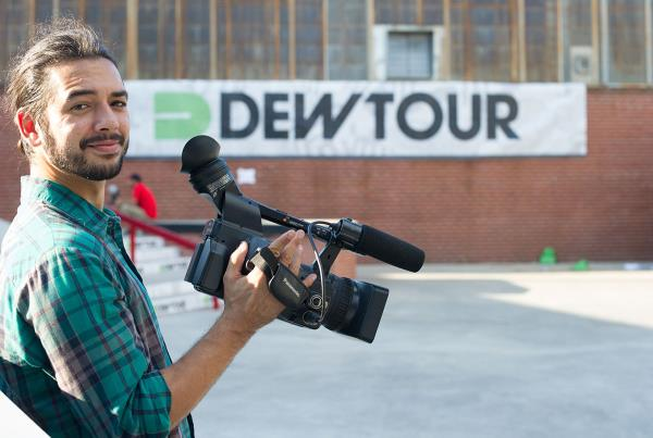 Porpe Filming for Nothing at Dew Tour Brooklyn