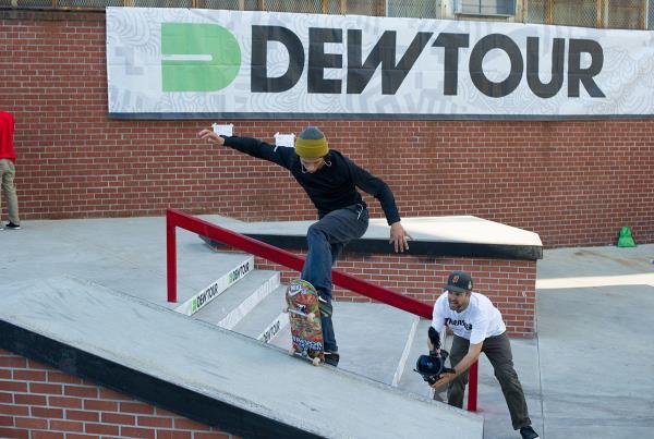 Trevor Colden Frontside Bluntslide at Dew Tour Brooklyn