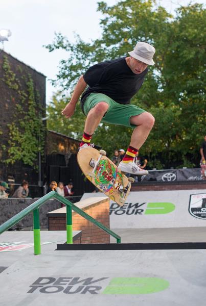 Mark Gonzales Casper Flip at Dew Tour Brooklyn