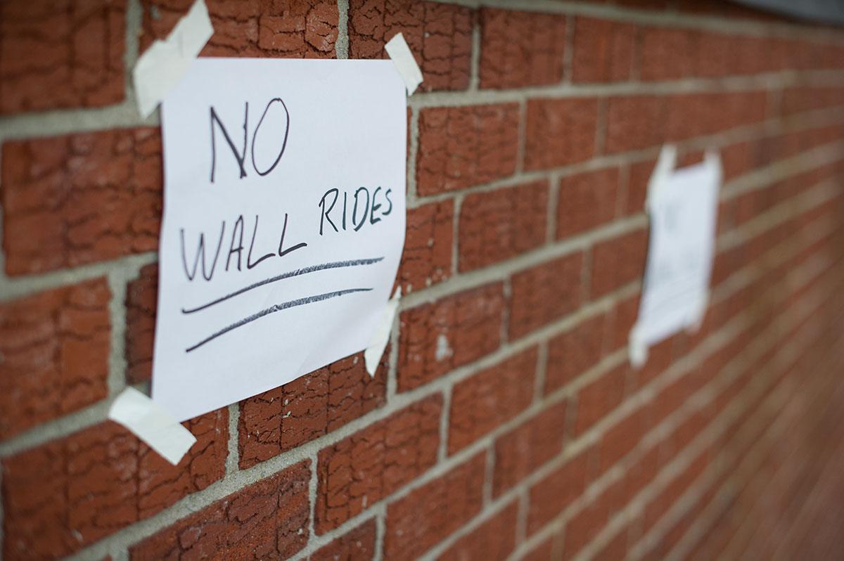 No Wallrides at Dew Tour Brooklyn