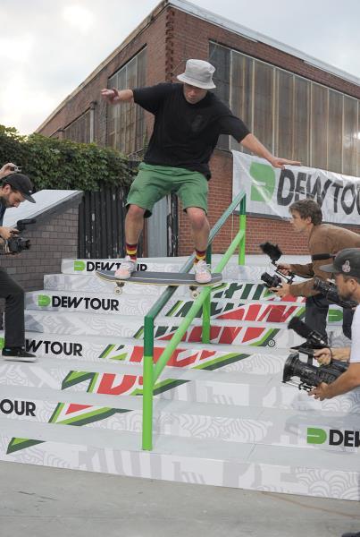 Gonz Boardslide at Dew Tour Brooklyn