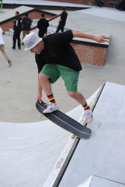 Gonz Sweeper at Dew Tour Brooklyn