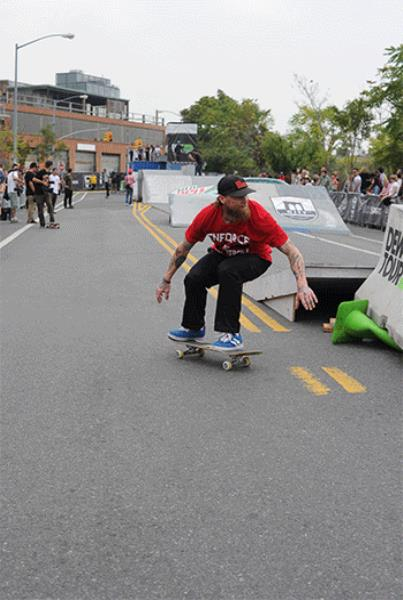 Mike Valley Wallie at Dew Tour Brooklyn
