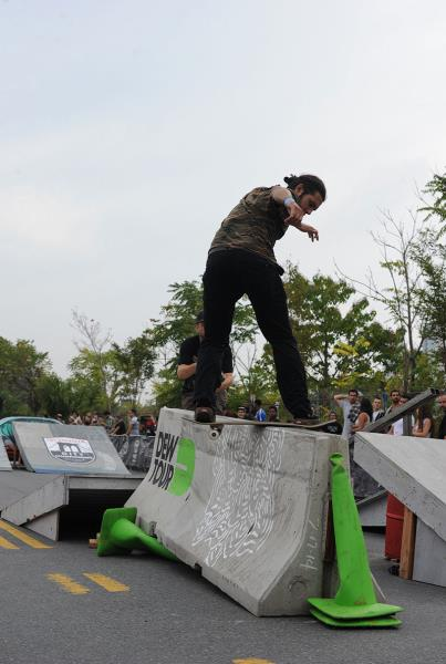 Porpe Front Board at Dew Tour Brooklyn