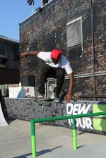 Theotis Backside Flip at Dew Tour Brooklyn