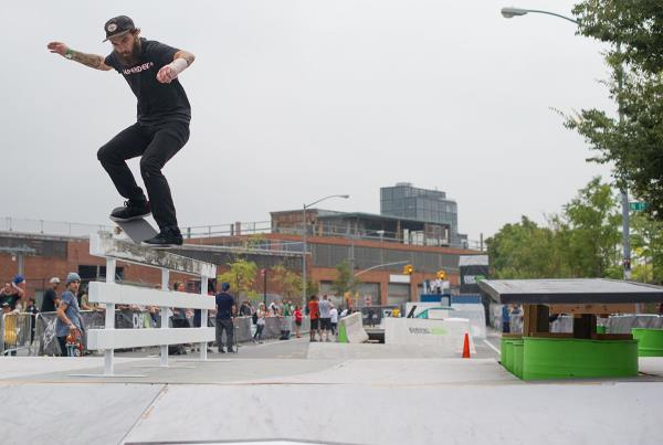 Clint Walker Crooked Grind at Dew Tour Brooklyn