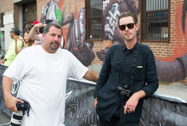Chris Ortiz and Jordan at Dew Tour Brooklyn