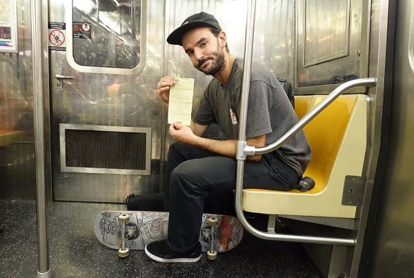 HiDefJoe Skateboarding Ticket at Dew Tour Brooklyn