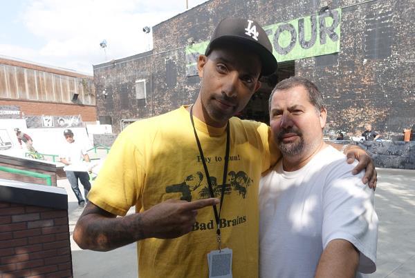 Atiba and Ortiz at Dew Tour Brooklyn
