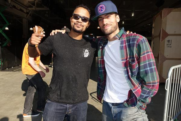 Dune and Eli at Dew Tour Brooklyn
