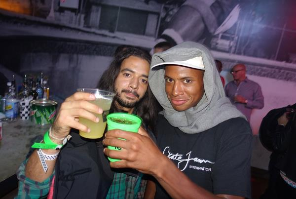 Porpe and Ishod at Dew Tour Brooklyn