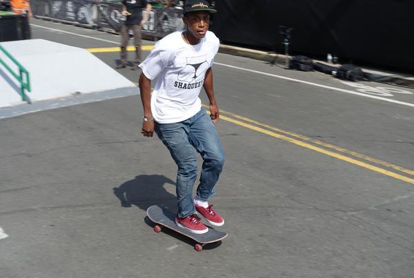 Ishod Wair Shaqueefa Gear at Dew Tour Brooklyn