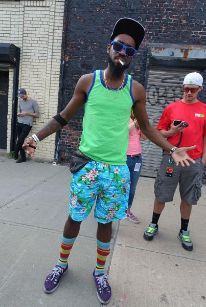 Curtis Valentine Gear at Dew Tour Brooklyn