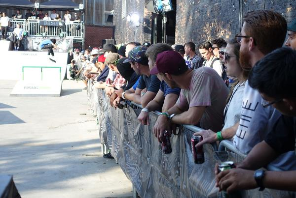 The Crowd at Dew Tour Brooklyn