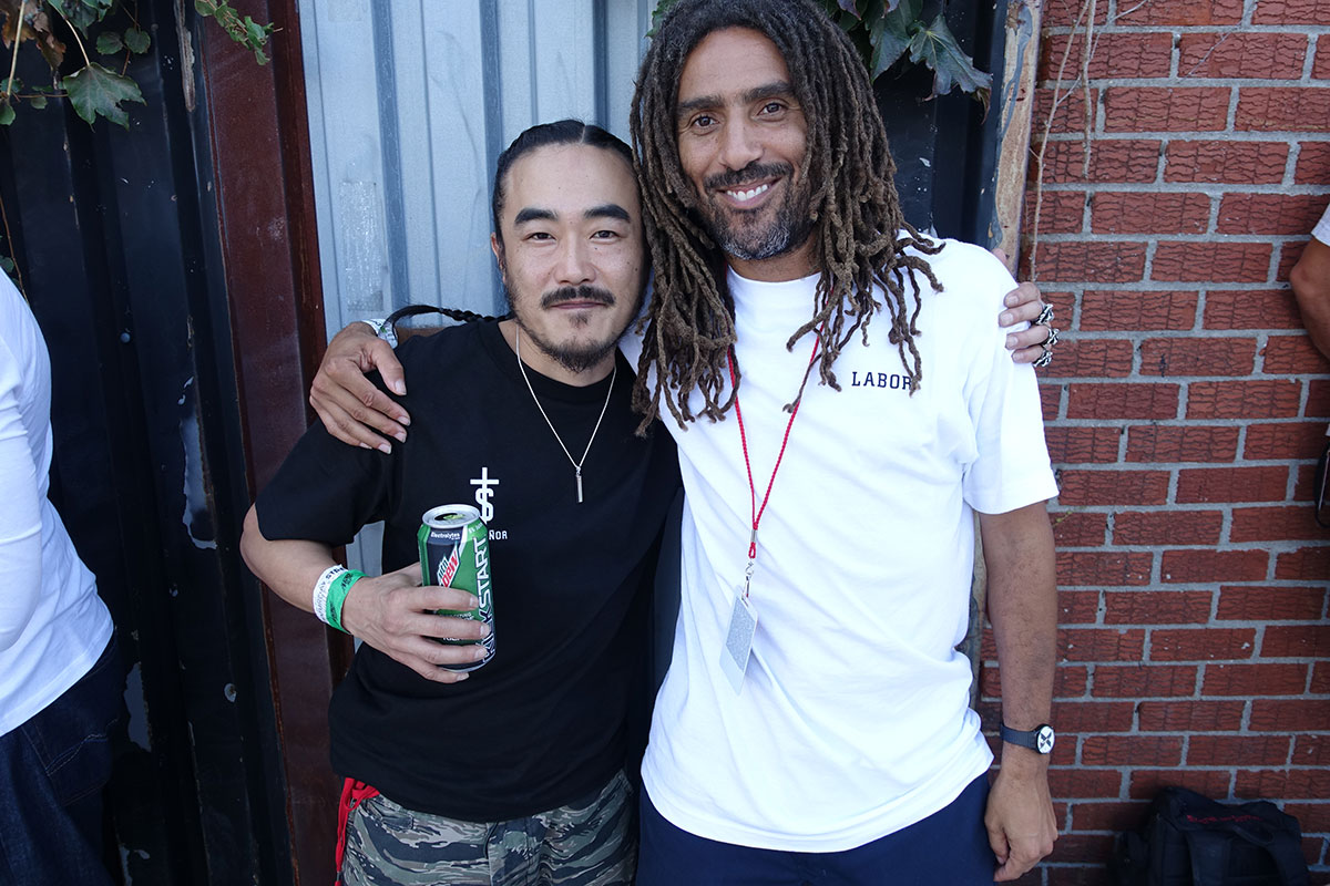 Spencer Fujimoto and Vern at Dew Tour Brooklyn