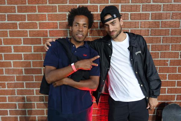 Jahmal and Eli at Dew Tour Brooklyn