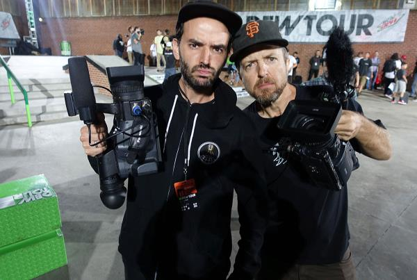 Joe and Schmitty at Dew Tour Brooklyn