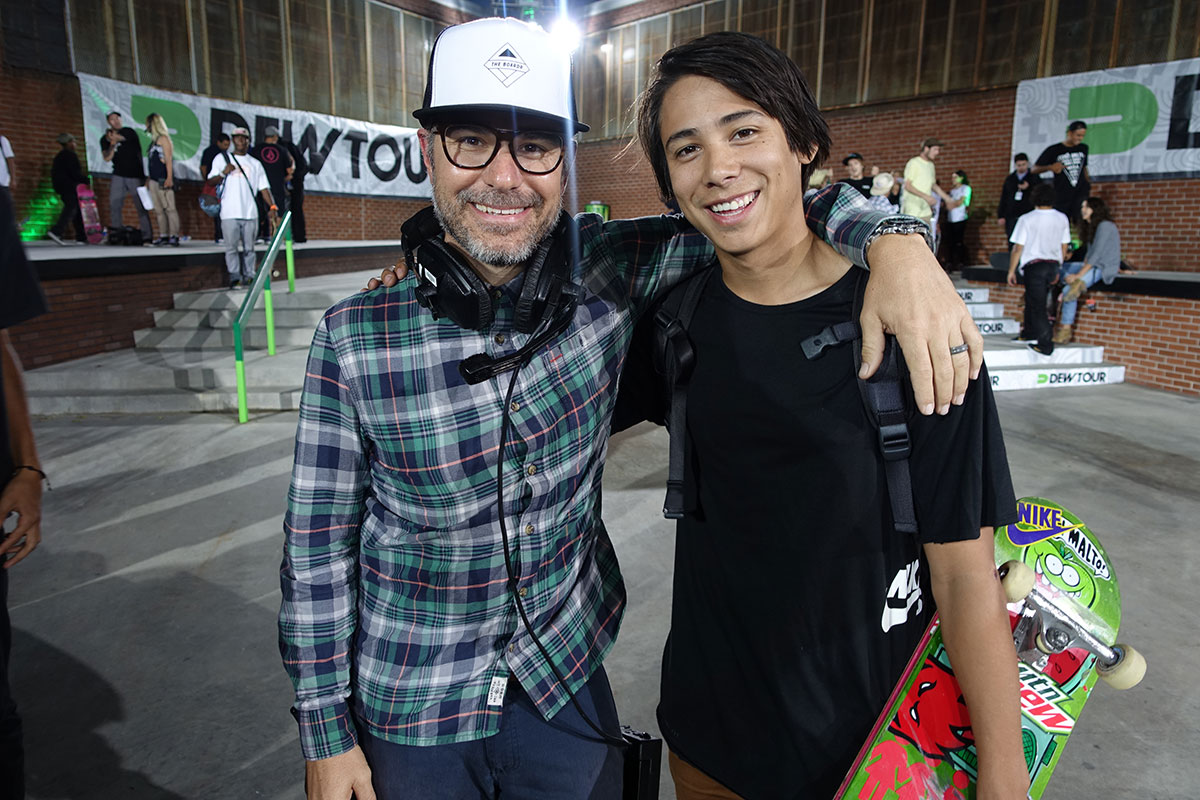 Ryan and Sean Malto at Dew Tour Brooklyn