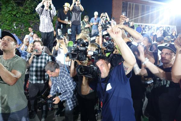 Media Frenzy at Dew Tour Brooklyn