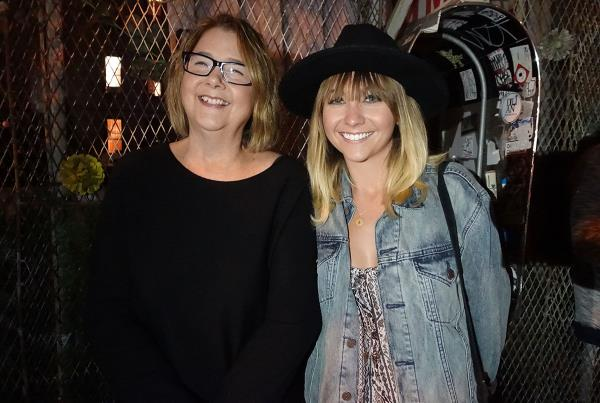 Amelia and her Mom at Dew Tour Brooklyn
