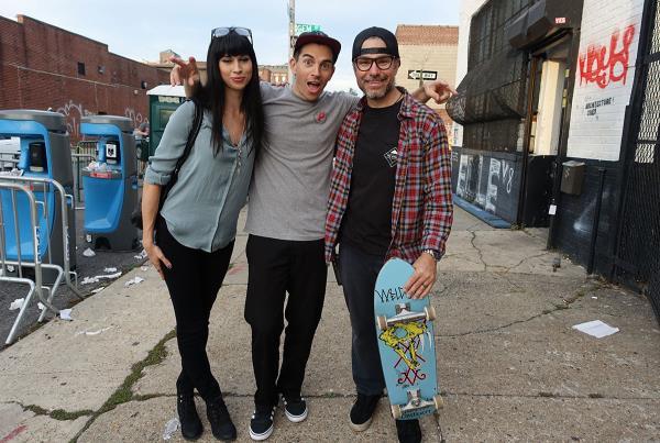 Ally, Josh, Ryan at Dew Tour Brooklyn