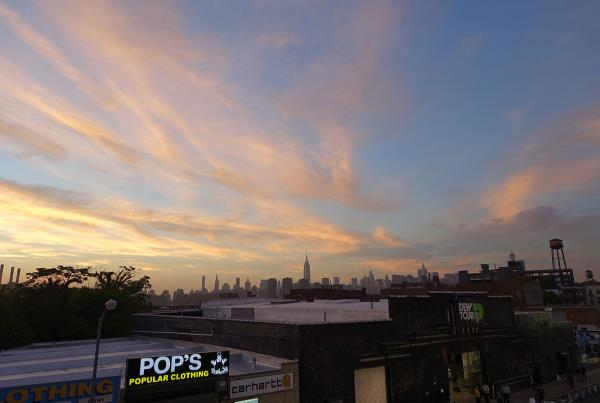 Rooftop Brooklyn Bar View at Dew Tour