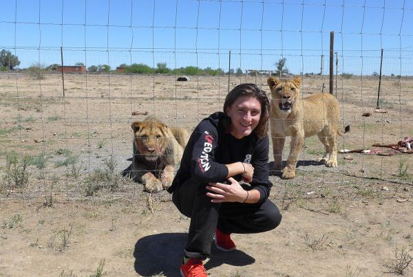 Jereme and Big Cats on South Africa Tourist Mission