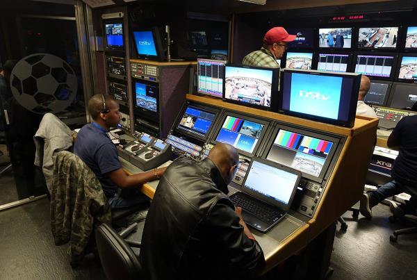 TV Truck at Kimberley Diamond Cup