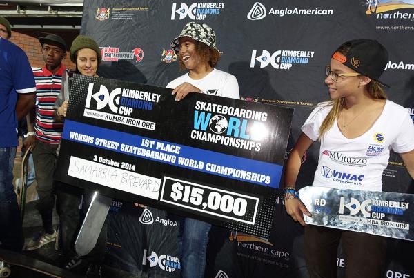 Samarria Brevard Wins Womens at Kimberley Diamond Cup