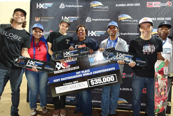 Jimmy Wins Vert at Kimberley Diamond Cup 2014