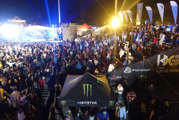 Nightlife Scene at Kimberley Diamond Cup 2014