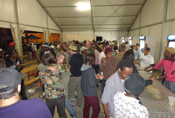 Beer Tent at Kimberley Diamond Cup 2014