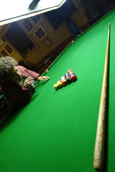 Snooker Tables at Kimberley Diamond Cup 2014