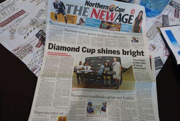 The Morning Paper at Kimberley Diamond Cup 2014