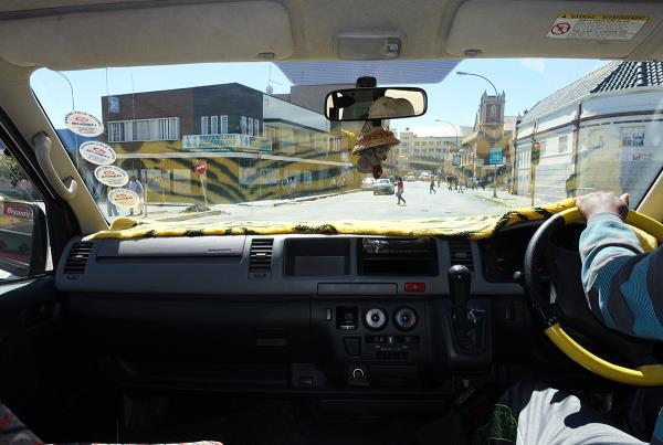 Driving at Kimberley Diamond Cup 2014