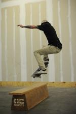 Yonis, switch frontside 360.
