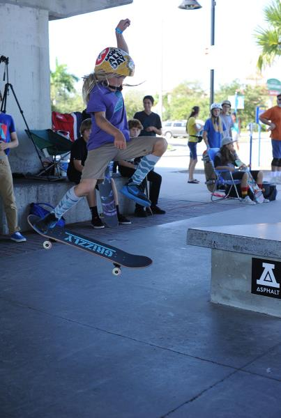 Backside 360 at Grind for Life Bradenton