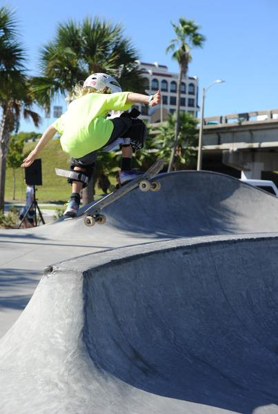 Early Boggs Flyout at Grind for Life Bradenton