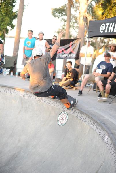 Big Frontside Grind at Grind for Life Bradenton