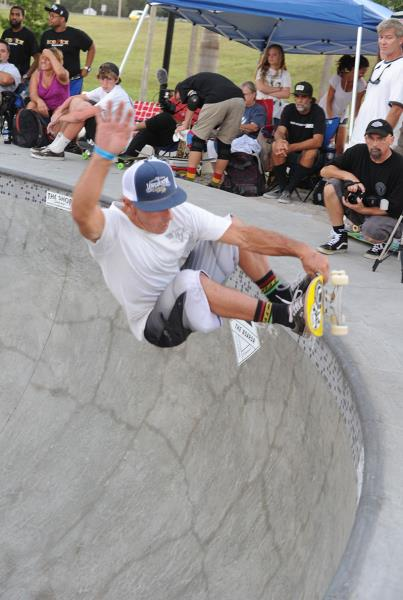 Garr Frontside Air at Grind for Life Bradenton