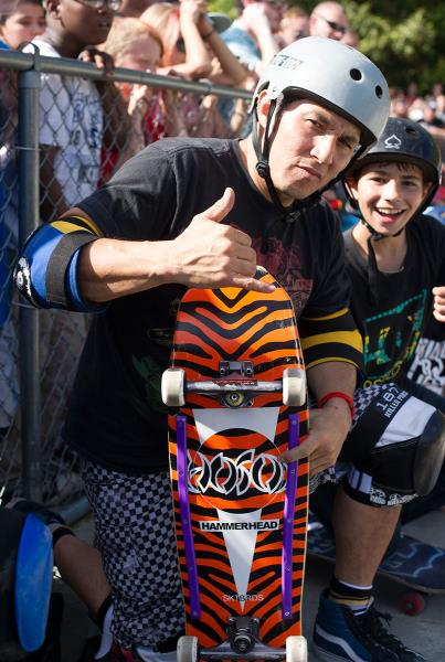Christian Hosoi Board at Get Rad for Ray