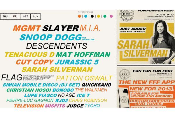 Fun Fun Fun Fest in Austin Next Month with The Boardr