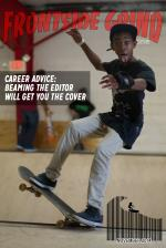 Keenan officially kicked off his skateboard career by landing the cover today.