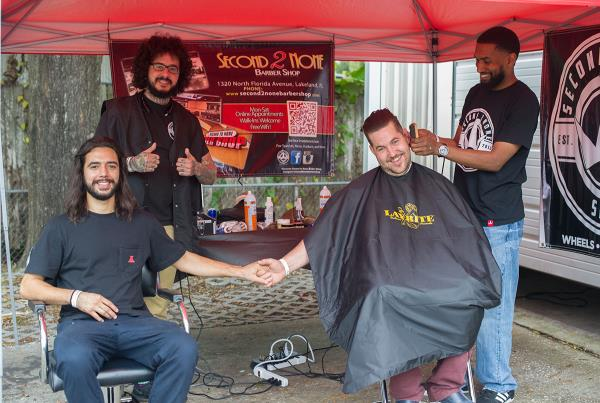 Barber Boys Meet Boardr Boys