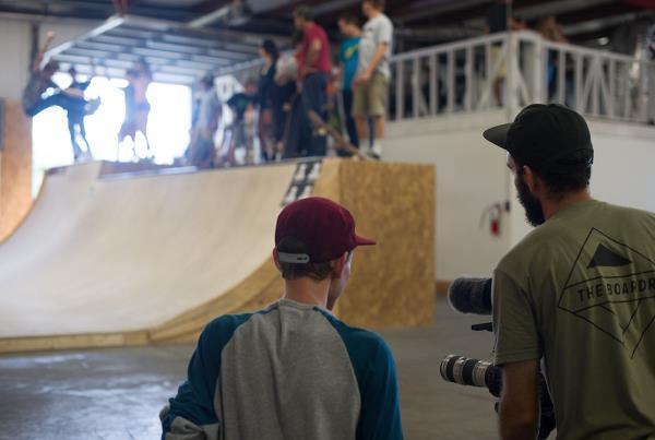 Nate and Joe at The Boardr