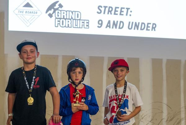 GFL Awards Winners 9 and Under Street