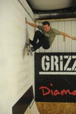 Levi Tags The Boardr on a Frontside Wallride