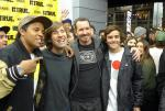 It was pretty crazy seeing Jeremy Wray and Rodney Mullen at the Premiere.